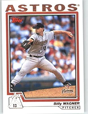2004 Topps Baseball Card # 145 Billy Wagner - Houston Astros - MLB Trading Card