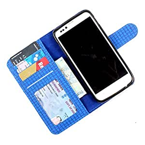 For Micromax Canvas Music A88 - PU Leather Wallet Flip Case Cover