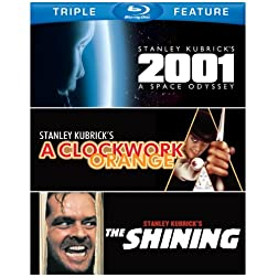 2001: A Space Odyssey / Clockwork Orange / Shining [Blu-ray]