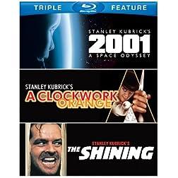 2001: A Space Odyssey / Clockwork Orange / Shining [Blu-ray]