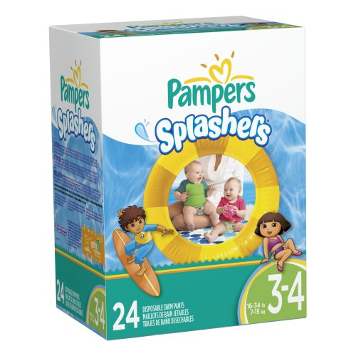 Pampers Splashers Disposable Pants Count