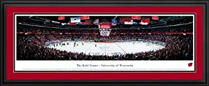Wisconsin Badgers - Kohl Center - Framed Poster Print by Laminated Visuals