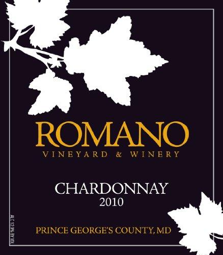 2010 Romano Vineryard & Winery Unoaked Chardonnay 750 Ml
