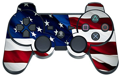 Designer Skin for Playstation 3 Remote Controller - Stars N Stripes (Ps3 Controller Skin America compare prices)
