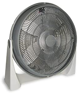 Aerospeed 20-Inch 5-Wing Blade High Performance Air Circulation Fan With 180 Degree Arc Pivot Stand And 3 Speed Settings