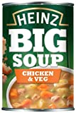 Heinz Big Soup Chicken and Vegetable 400 g (Pack of 12)