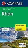 Rhön: Wanderkarten-Set mit Aktiv Guide. GPS-genau. 1:50000 (KOMPASS-Wanderkarten)