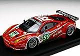 ★【BBR】(1/43) フェラーリ 458 イタリア GT2 ラグジュリー・レーシング 2011年 ル・マン24時間 #59 (BBRC63)