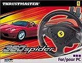 echange, troc ThrustMaster 360 Spider Racing Wheel - Ensemble volant et pédales