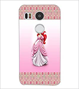 PrintDhaba Princess D-4565 Back Case Cover for LG NEXUS 5X (Multi-Coloured)