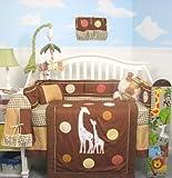SoHo Tall Tales Giraffe Baby Crib Nursery Bedding Set 10 pcs