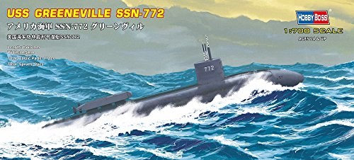 Hobby Boss USS Navy Greeneville Submarine SSN-772 Boat Model Building Kit