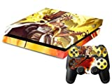 MightySticker? PS4 Designer Skin Game Console System + 2 Controller Decal Vinyl Protective Covers Stickers f Sony PlayStation 4 - Anime Bleach Kurosaki Ichigo Team Bankai Zaraki Kenpachi Eye Patch by MightySticker? [並行輸入品]