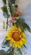 6 Feet Sunflower Garland
