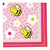 Sweet-As-Can-Bee Lunch Napkins (16)