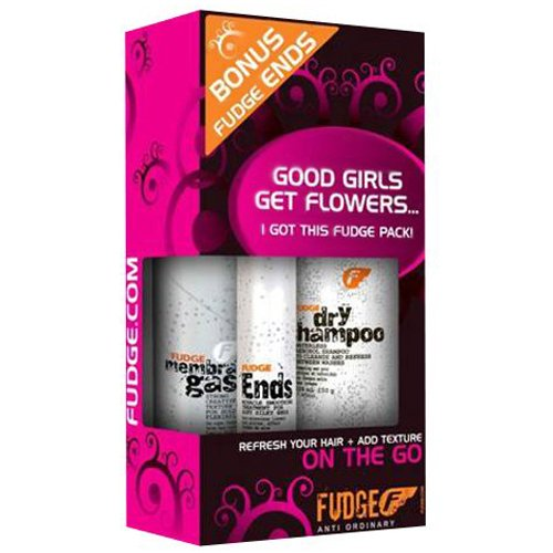 Fudge Women's On The Go Hair Care Travel Pack