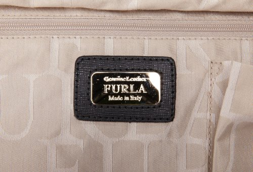 Furla Piper M Bugatti C-Tracolla Shoulder Bag,Onyx,One Size
