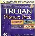 Trojan Condom Pleasure Pack Lubricated, Trojan Condom Pleasure Pack Lubricated