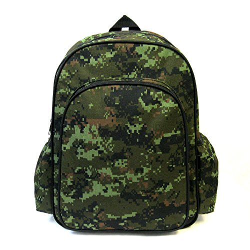 "VIVO Little Boys 14"" Backpack Kids Childrens Bag Woodland Camo (BAG-BP-01W) - 1"