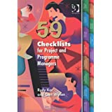 59 Checklists for Project and Programme Managersby Rudy Kor