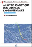 Analyse statistique des donnes exprimentales