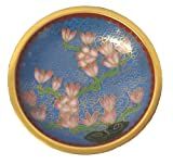 Chinese cloisonne plate dish - 3