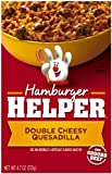 Hamburger Helper Double Cheesy Quesadilla, 4.7-Ounce Boxes (Pack of 12)