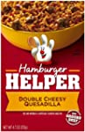 Hamburger Helper Double Cheesy Quesad...