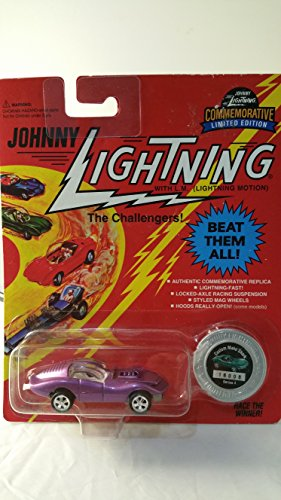 "1995 Johnny Lightning The Challengers! Commemorative Limited Edition ""Purple"" CUSTOM MAKO SHARK Collectible Car - 1"