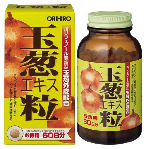 オリヒロ 玉葱エキス粒 徳用 600粒