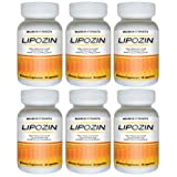 LIPOZIN (6 Bottles) - High Performance Weight Loss Supplement. Best Fat Burning, Appetite Suppressing Diet Pill. Slim Down Quickly and Lose Weight Fastby Lipozin Weight...