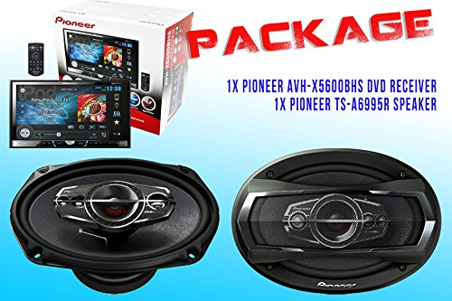 Package ! Pioneer Avh-X5600Bhs Dvd Receiver + Pioneer Ts-A6995R Car Speakers