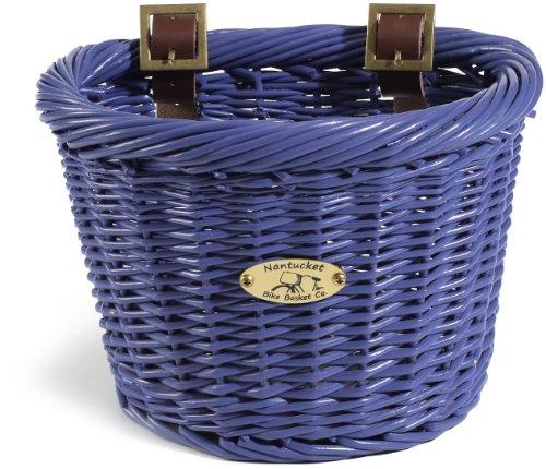 Nantucket Bike Basket CompanyGull & Buoy Collection Child D-Shape Bike Basket
