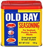 Old Bay Seasoning for Seafood, Poultry, Salads & Meats, 6-Ounce Canister