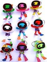 1 x Random Colour Scuba Diver Voodoo Doll Keyring