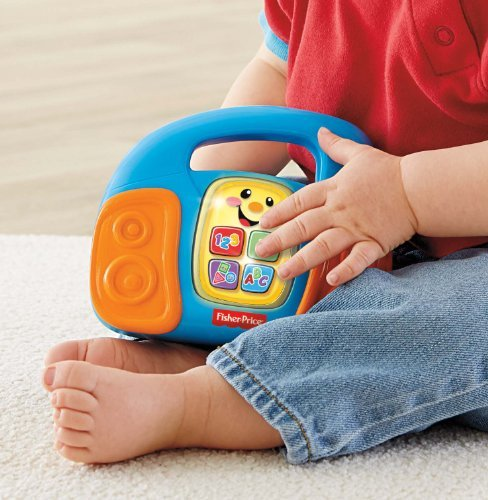 Fisher-Price Laugh And Learn Learning Music Player Toy, Kids, Play, Children front-9965