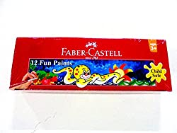 Faber-Castell Tempera Fun Paint - Set of 12