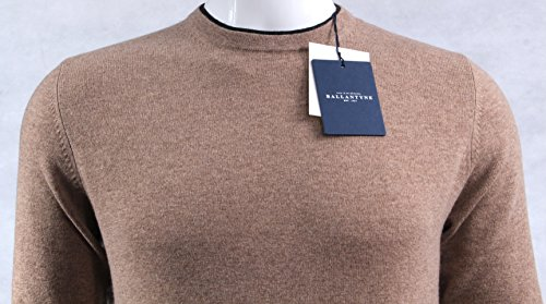 Ballantyne Pullover A/I 16-17 Mod. H2P000 12W31 Light Brown-Charc - 46
