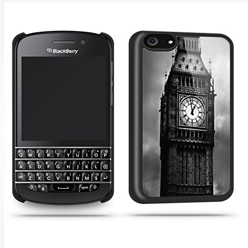 Big Ben London Cool Retro Quirky Phone Case Shell For Blackberry Q10 - Black