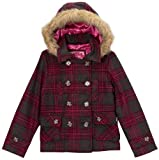 Dollhouse Big Girls Double Breasted Hooded Peacoat Jacket