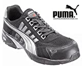 Puma Speed Low Black-Silver S1P Safety Shoes : 262, Size: 42 - 642530