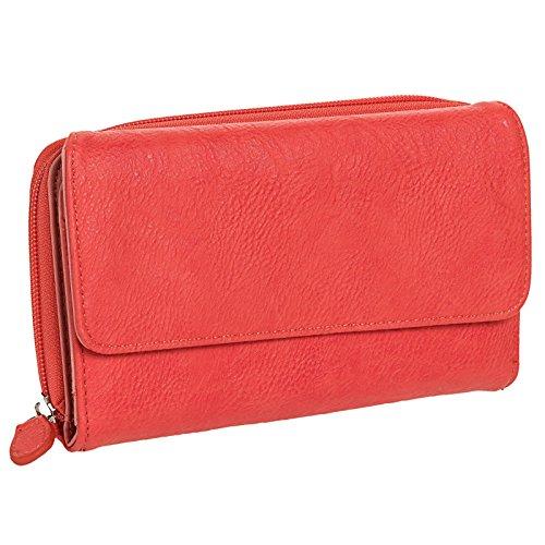 mundi-my-big-fat-wallet-organizer-clutch-coral-orange