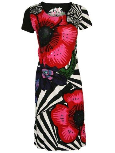 Desigual Damen Designer Kleid Tank Top - UITER -S