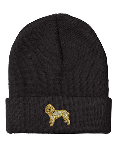 COCKAPOO DOGS PETS Embroidery Embroidered Beanie Skull Cap Hat