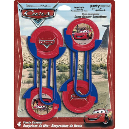 Cars Disc Launchers 4ct