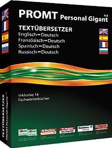 @promt Personal 9.0 Gigant Deutsch, Englisch, Französisch, Spanisch, Russisch