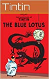 "Image of The Adventures of Tintin: ""Tintin and the Blue Lotus"": The original comic book of Tintin by Herge. Series 5."