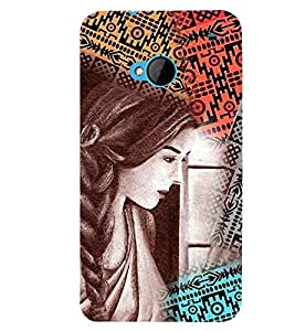 PRINTSWAG BEAUTIFUL GIRL Designer Back Cover Case for HTC ONE M7