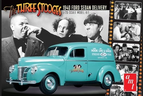 1/25 Three Stooges '40 Ford Sedan Delivery