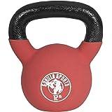 Red rubber 32 haltère 4 kg